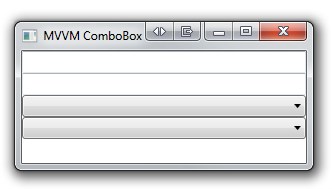 MVVM ComboBox
