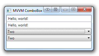 MVVM ComboBox synchronized